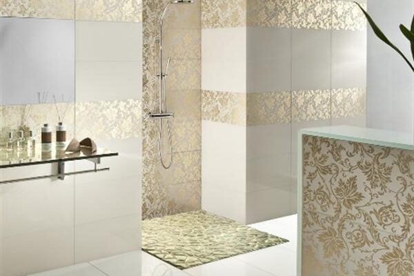 Luxury Bathroom Tiles Ideas Home Design  Luxury Bathroom Tiles Ideas | 600 X 557 - e-Causes
